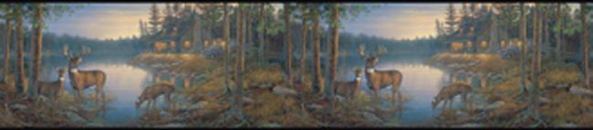 Американские обои York,  коллекция Lake Forest Lodge, артикулLM7934BD