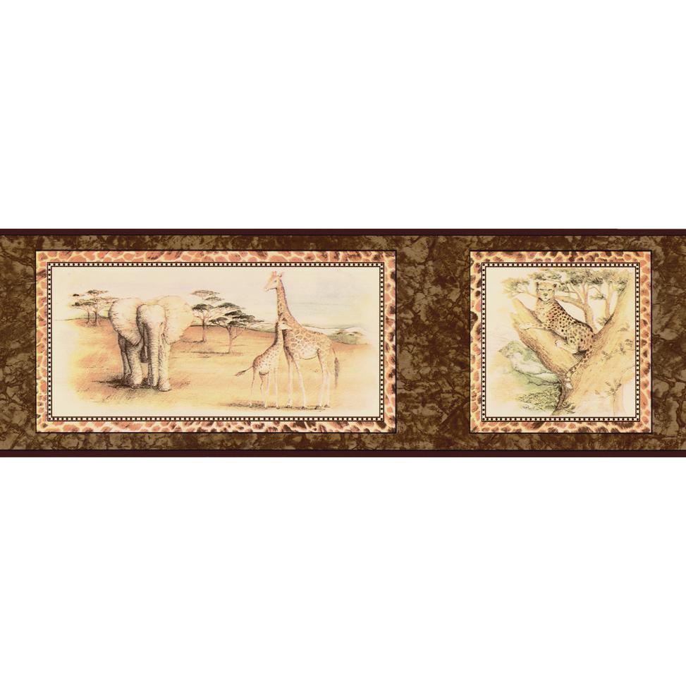 Канадские обои Blue Mountain,  коллекция Borders, артикулBC1584030