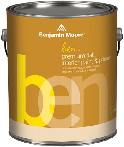 Ben 625 Waterborne Interior Paint- Flat