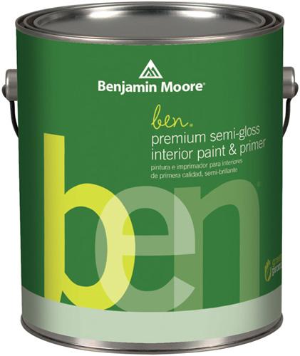 Ben 627 Waterborne Interior Paint- Semi-Gloss