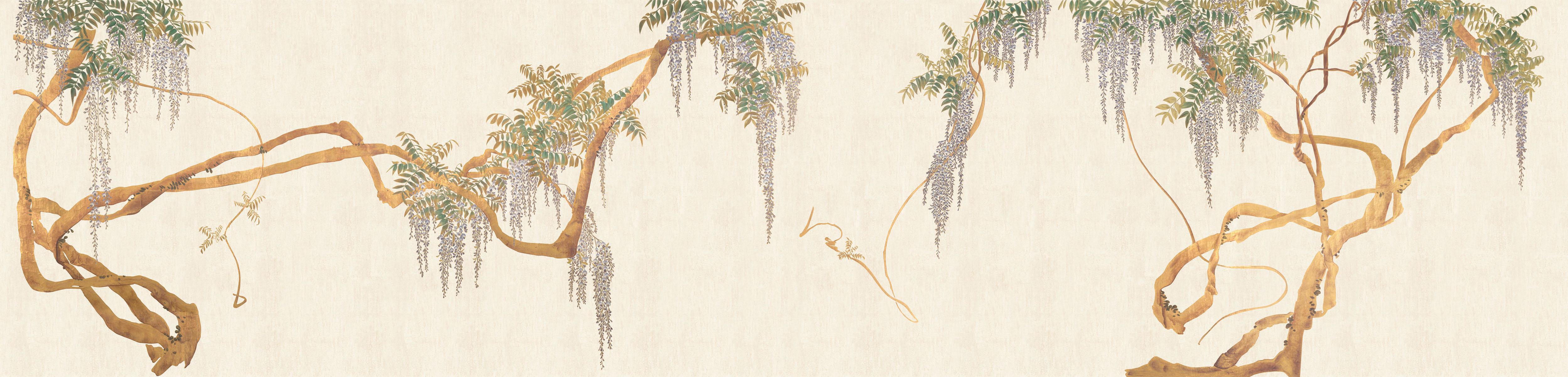 Английские обои Iksel,  коллекция Scenic & Architectural Wallpapers, артикулEdoWisteria