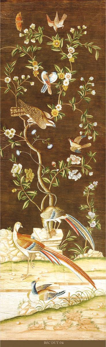 Английские обои Iksel,  коллекция Scenic & Architectural Wallpapers, артикулDutchTreeOfLefeBSCDUT04