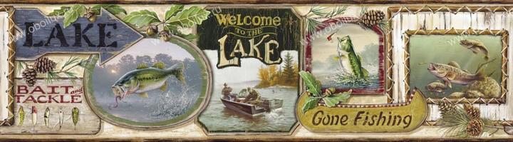 Американские обои Chesapeake,  коллекция Outdoor, артикулHTM48442B
