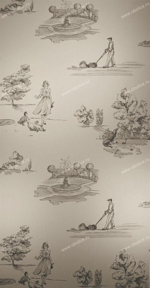 Английские обои Nina Campbell,  коллекция Wallpaper Album III, артикулNCW3837-01