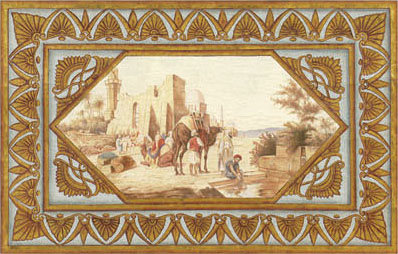Английские обои Iksel,  коллекция Scenic & Architectural Wallpapers, артикулNeo-ClassicalNEOMED11