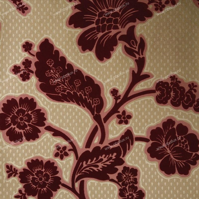 Английские обои Little Greene,  коллекция London Wallpapers, артикул0277SOREDFL