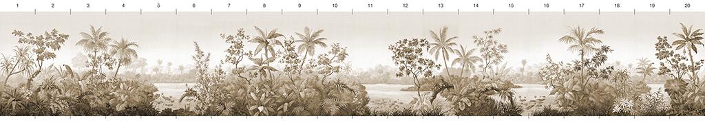 Американские обои Paul Montgomery Studio,  коллекция Melange Series, артикулS-03-16-S
