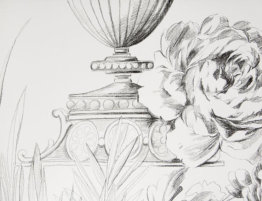 Английские обои Designers guild,  коллекция Zephirine, артикулP546/01
