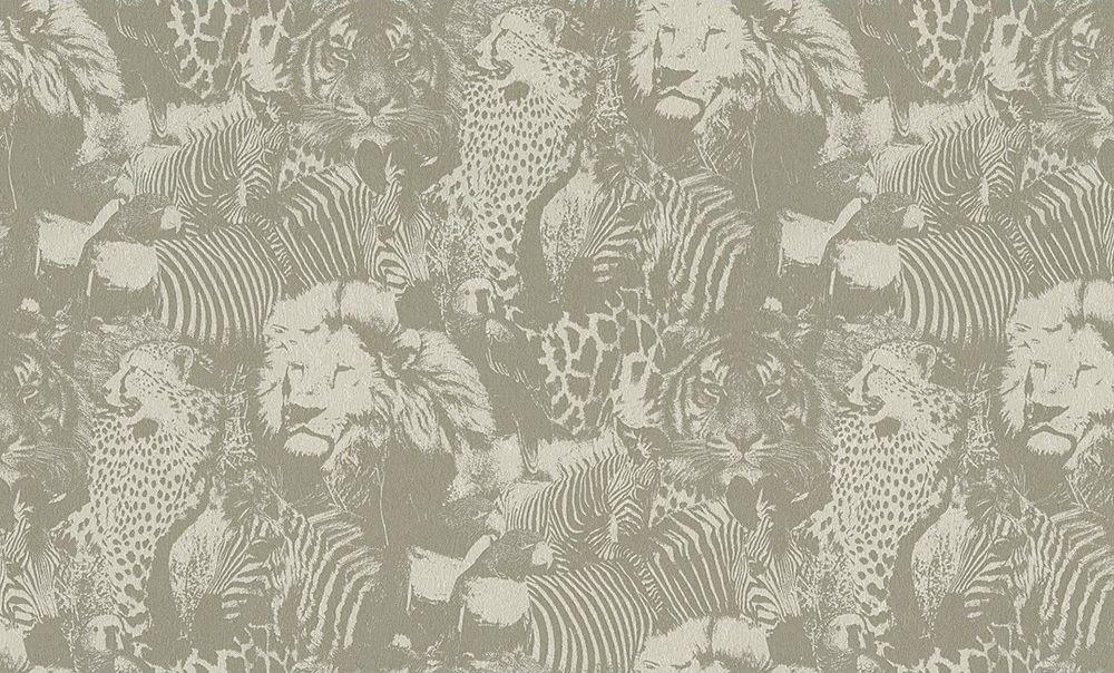 Немецкие обои A. S. Creation,  коллекция Jungle, артикул96243-2