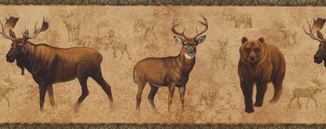 Американские обои York,  коллекция Lake Forest Lodge, артикулNM6633B