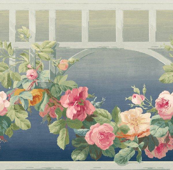 Американские обои Wallquest,  коллекция English Rose, артикулEN11062B