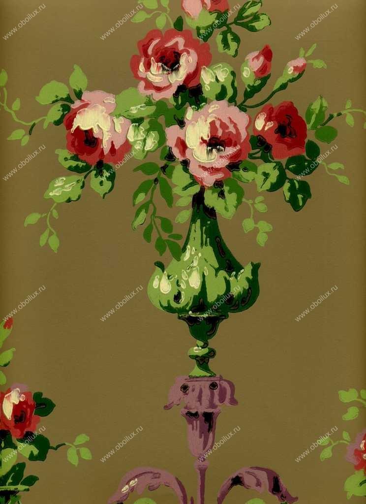 Американские обои York,  коллекция Ashford House - Flowers S.E., артикулCF6374