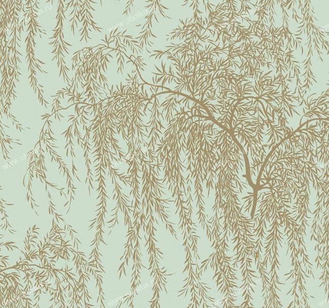 Американские обои York,  коллекция Ronald Redding - Silver Leaf, артикулPM9256