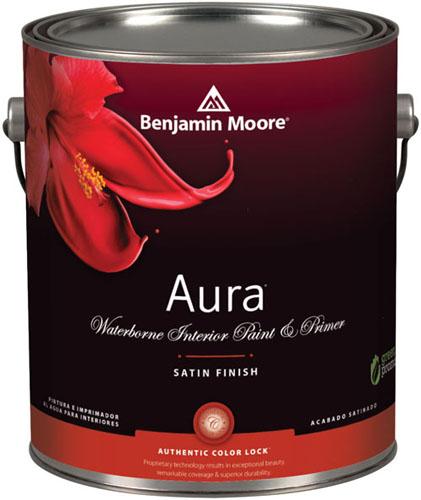 Aura 526 Waterborne Interior Paint - Satin Finish