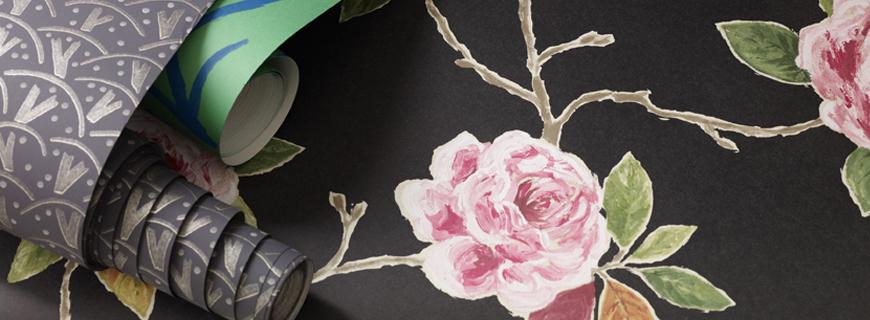 Английские обои Sanderson,  коллекция Bloomsbury Canvas, артикул211068