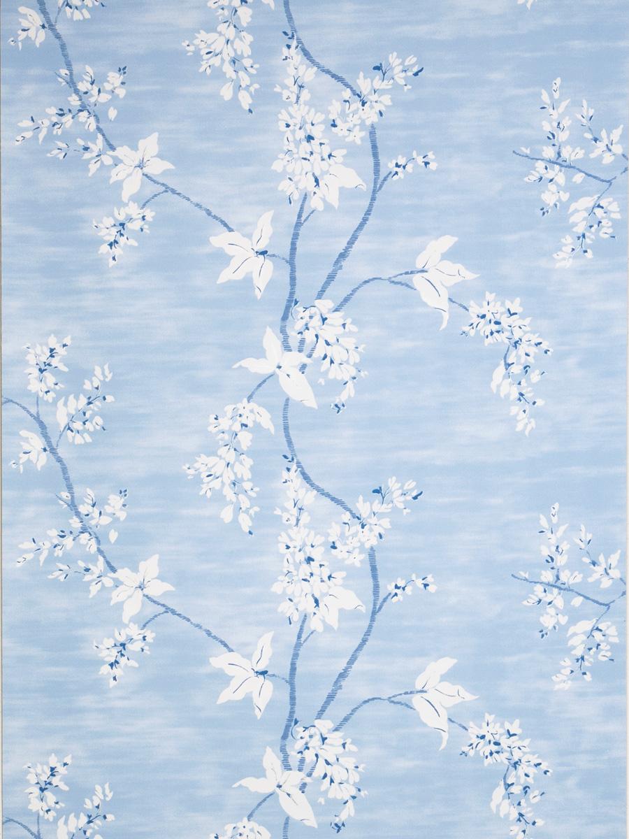 Американские обои Stroheim,  коллекция Blue & White, артикул6023901