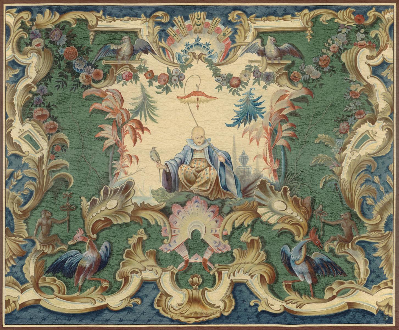 Английские обои Iksel,  коллекция Scenic & Architectural Wallpapers, артикулOverDoorsCHINABOY