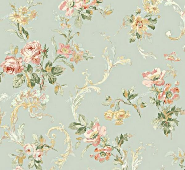 Американские обои Wallquest,  коллекция Springtime Cottage, артикулCG30002