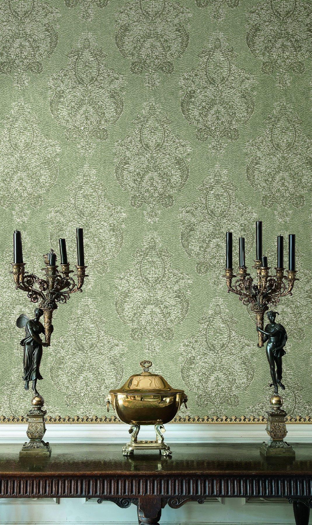 Американские обои Wallquest,  коллекция The Hampton House, артикулSM71208