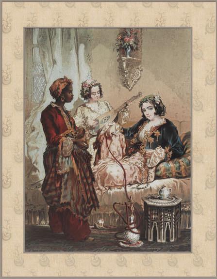 Английские обои Iksel,  коллекция Scenic & Architectural Wallpapers, артикулPreziosi'sConstantinoplePREZ1