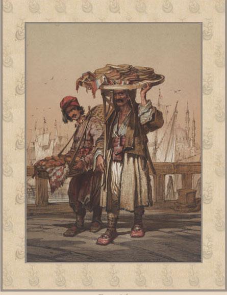 Английские обои Iksel,  коллекция Scenic & Architectural Wallpapers, артикулPreziosi'sConstantinoplePREZ16