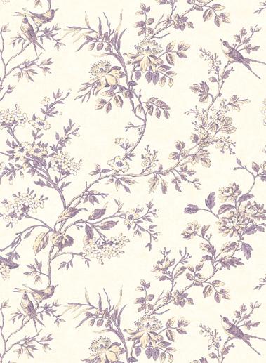 Американские обои Jaima Brown,  коллекция Chanticleer, артикулAvignon-Purple