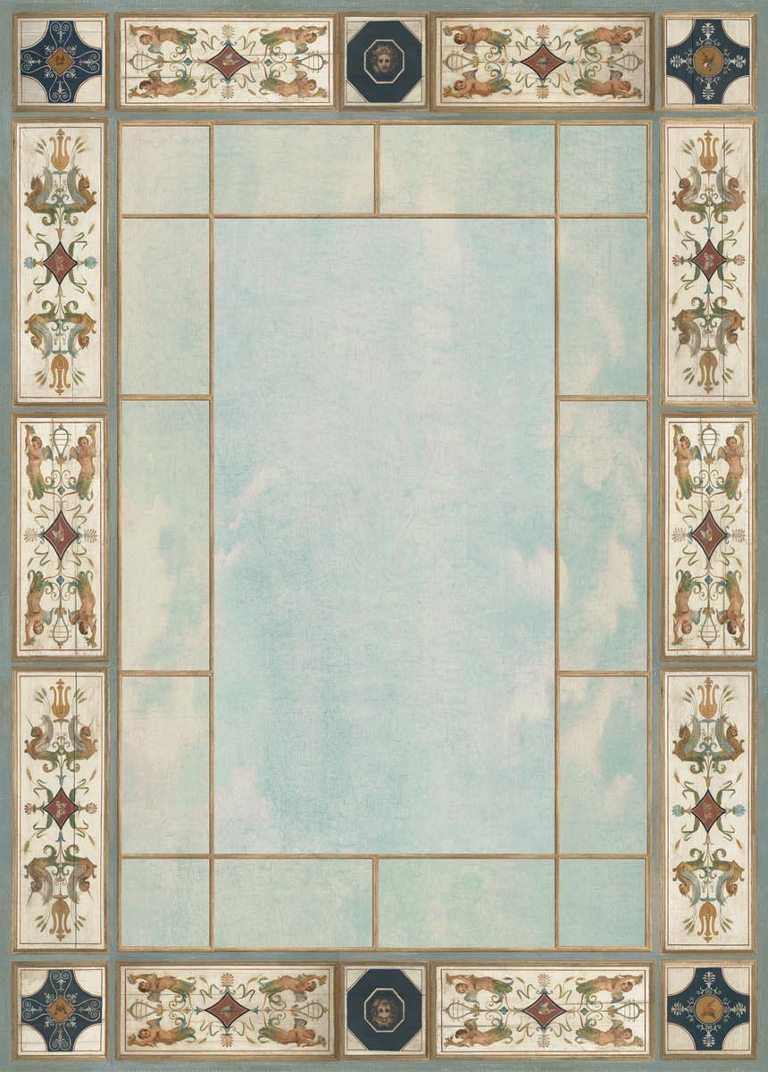 Английские обои Iksel,  коллекция Scenic & Architectural Wallpapers, артикулChoiseulDirectoireCHDir3