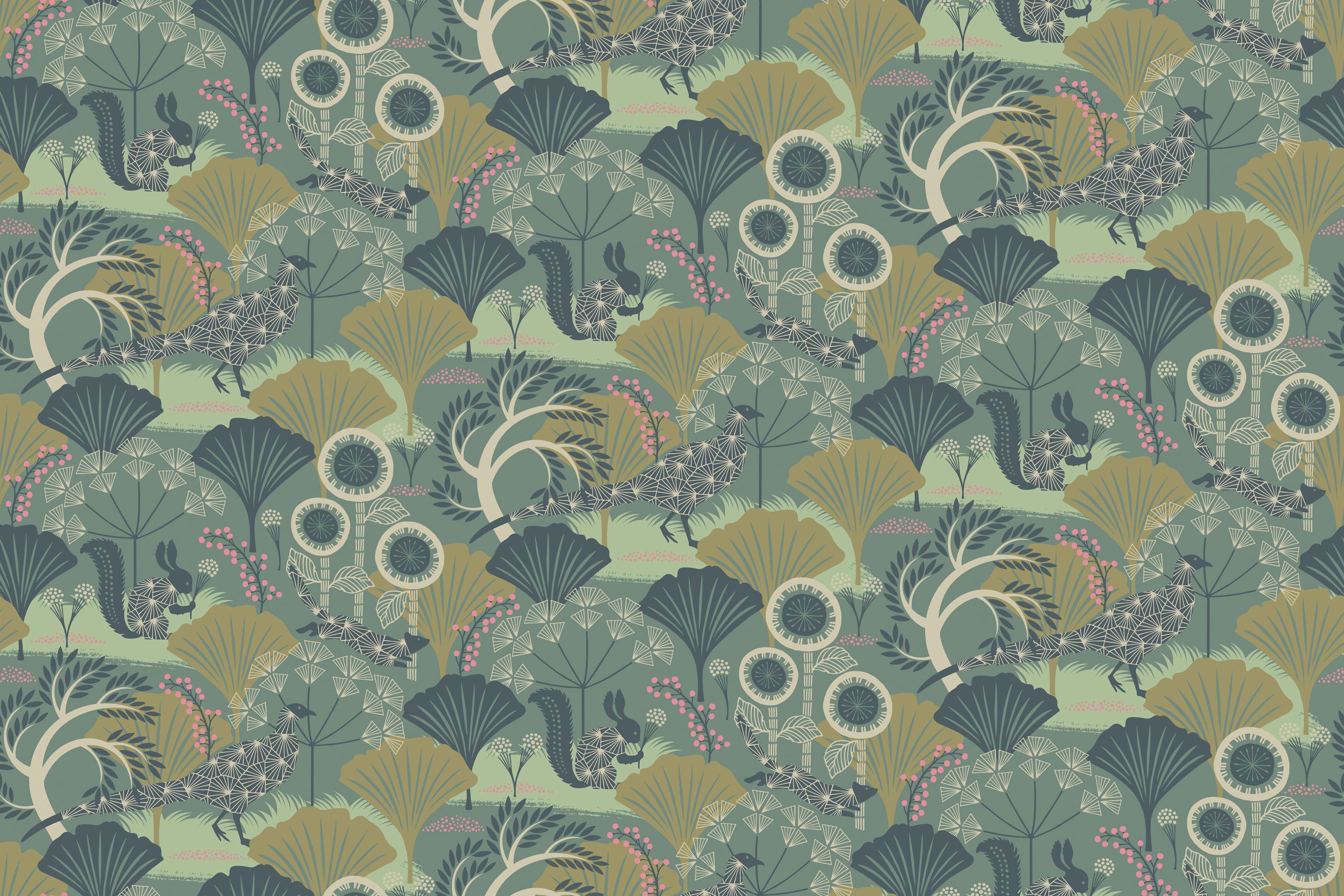 Шведские обои Borastapeter,  коллекция Wonderland by Hanna Werning, артикул1469