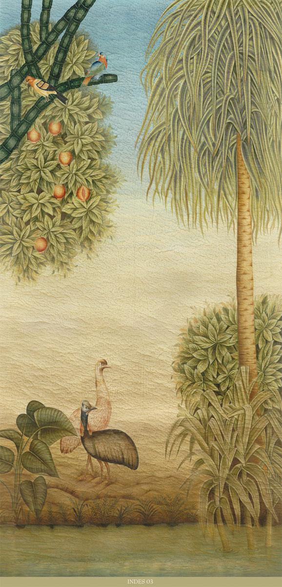Английские обои Iksel,  коллекция Scenic & Architectural Wallpapers, артикулExoticaINDES03