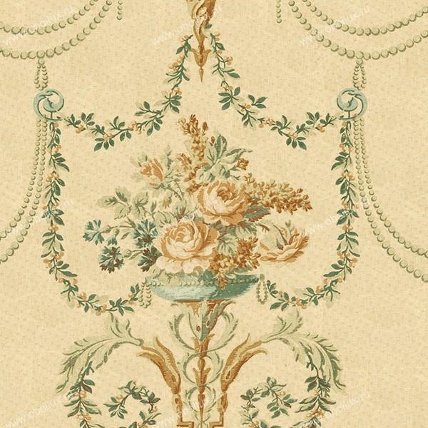Американские обои Wallquest,  коллекция French Tapestry, артикулTS70405