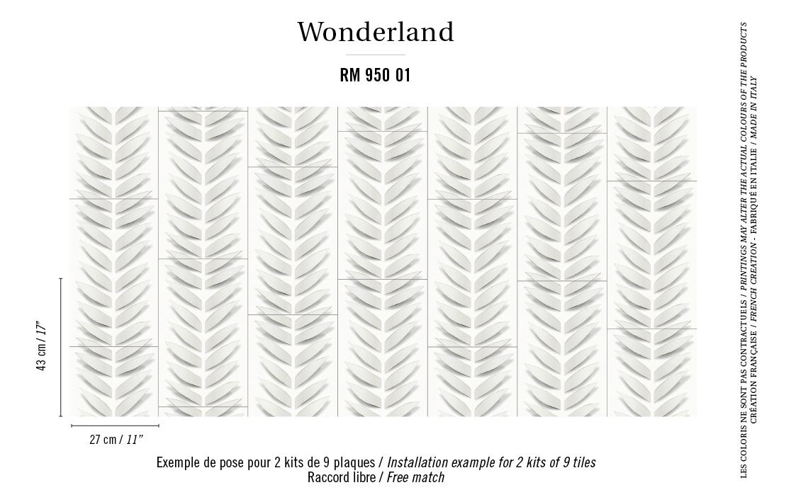 Французские обои Elitis,  коллекция Wonderland, артикулRM-950-01