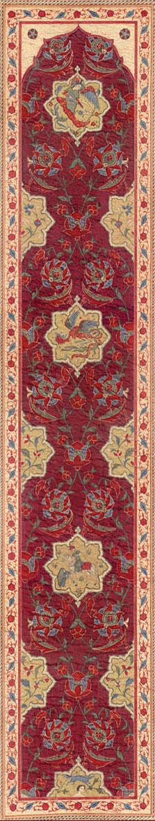Английские обои Iksel,  коллекция Scenic & Architectural Wallpapers, артикулAleppoRedALRED13