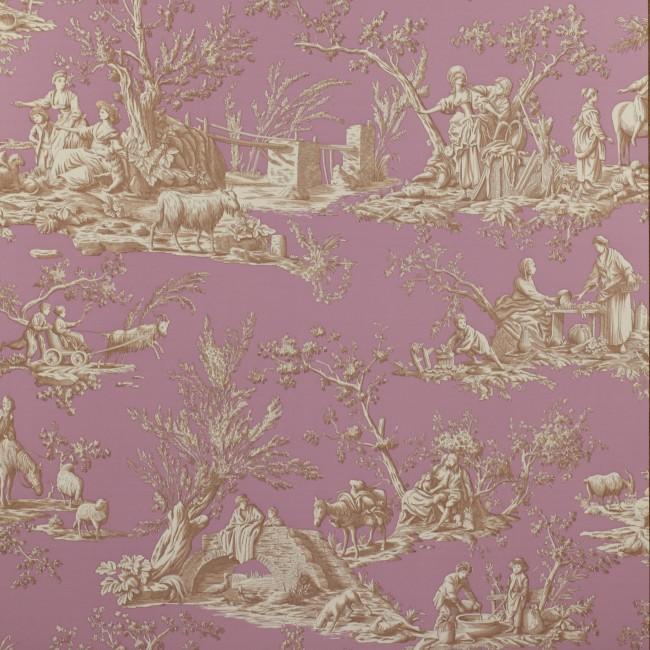 Французские обои Manuel Canovas,  коллекция Bellegarde, артикул03064-02