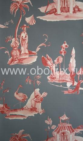 Английские обои Osborne & Little,  коллекция Pompadour, артикулW6011-10