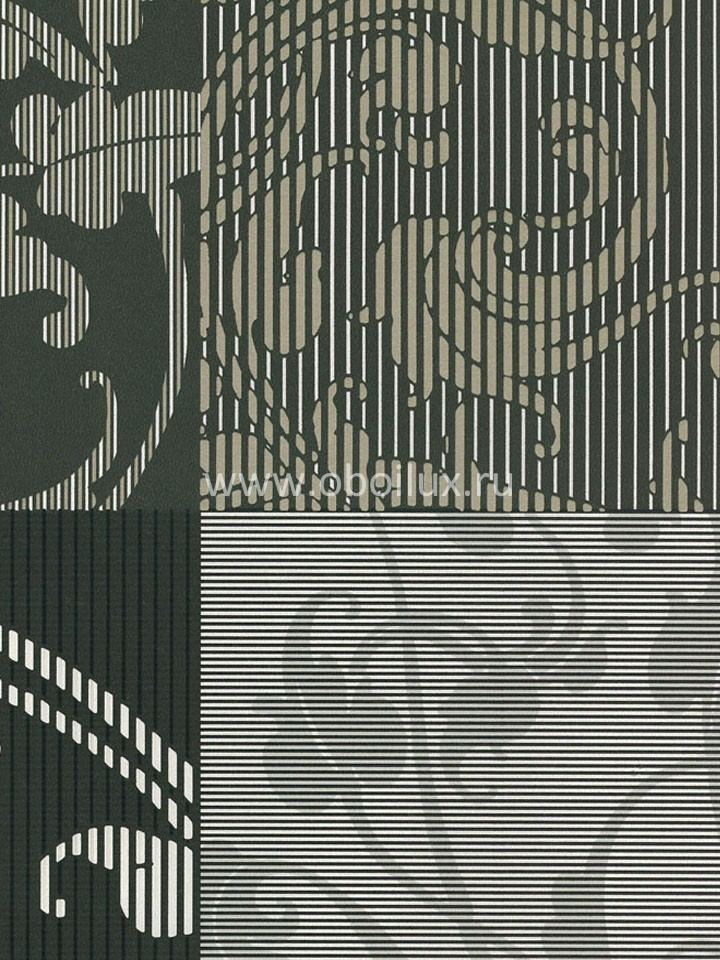 Канадские обои Blue Mountain,  коллекция Black & White, артикулBC1582124