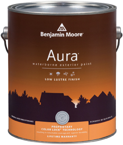 Aura 634 Waterborne Exterior Paint - Low Lustre Finish