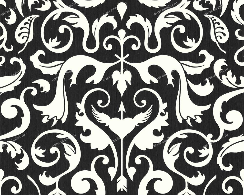 Немецкие обои A. S. Creation,  коллекция Black & White 2, артикул6693-77