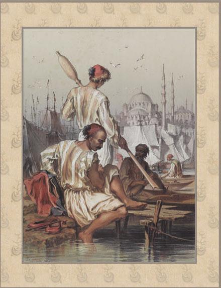 Английские обои Iksel,  коллекция Scenic & Architectural Wallpapers, артикулPreziosi'sConstantinoplePREZ20
