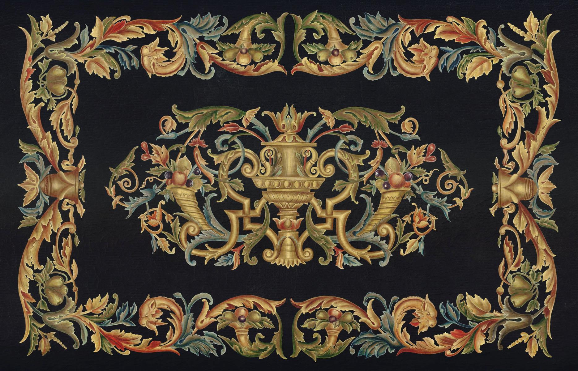 Английские обои Iksel,  коллекция Scenic & Architectural Wallpapers, артикулTabletopsRENAISSANCE