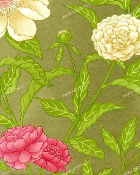Английские обои Osborne & Little,  коллекция Wallpaper Album V, артикулW5722-01