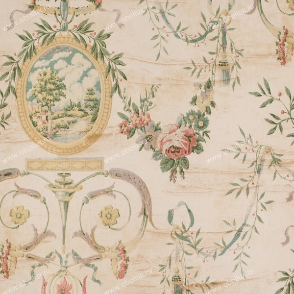 Немецкие обои KT-Exclusive,  коллекция Vintage Textiles, артикулBA61011