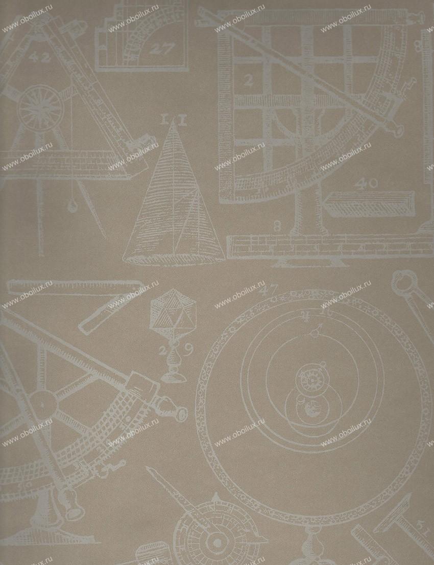 Английские обои Andrew Martin,  коллекция Navigator, артикулNewtonlinen