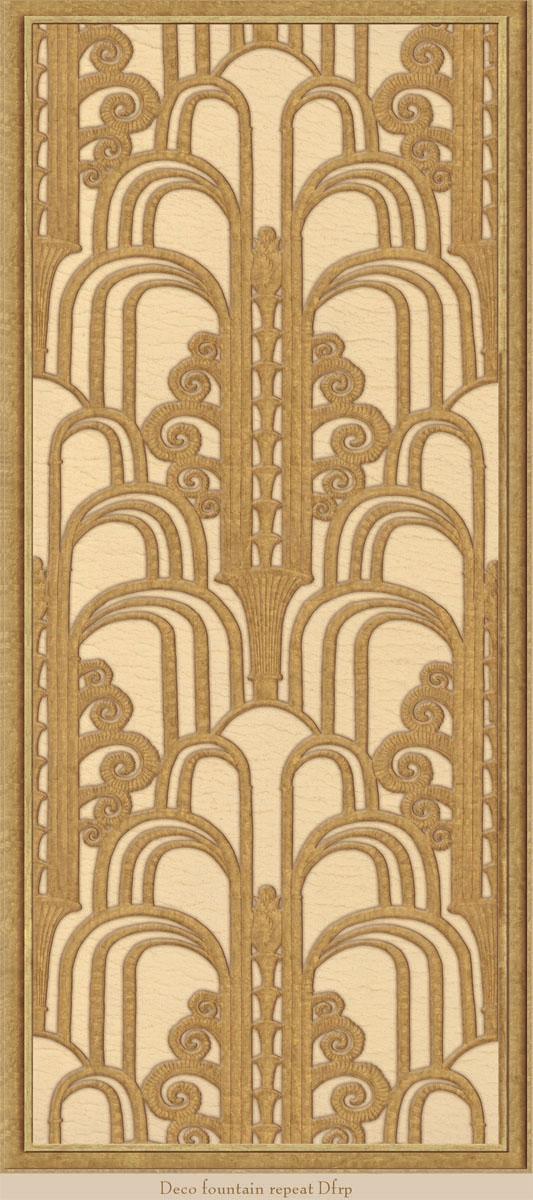 Английские обои Iksel,  коллекция Scenic & Architectural Wallpapers, артикул1940'sDecoDfrp