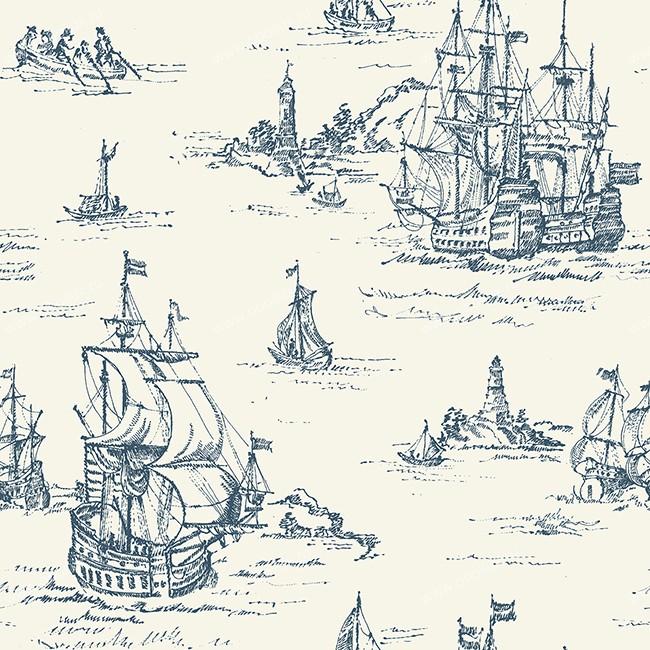 Американские обои York,  коллекция Ronald Redding - Houndstooth, артикулML1245