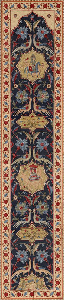 Английские обои Iksel,  коллекция Scenic & Architectural Wallpapers, артикулAleppoBlueALBL04