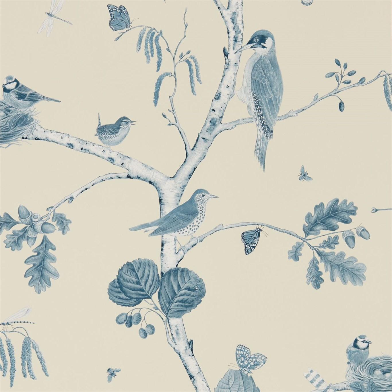 Английские обои Sanderson,  коллекция Woodland Walk, артикул215705