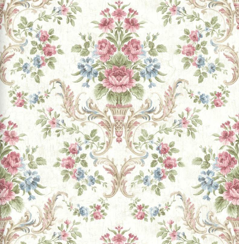 Американские обои Wallquest,  коллекция Style49 - Abbey Gardens, артикулHN40509