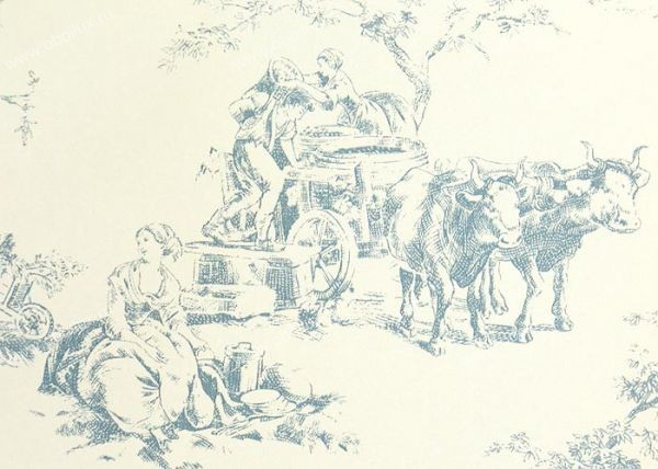 Французские обои Casadeco,  коллекция Amboise, артикулCBR15386104