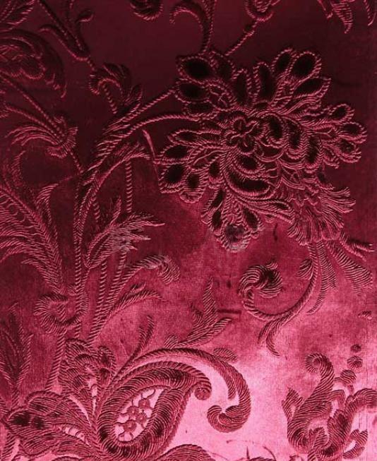 Французские обои Zuber,  коллекция Anastasia, артикул486-BORDEAUX