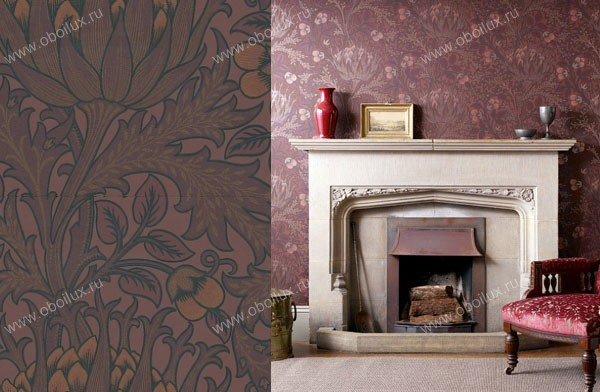 Английские обои Morris & Co,  коллекция Archive Wallpapers, артикул210355